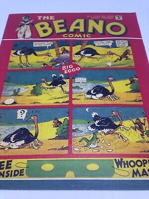 The Beano Comic 1938 First Edition Reproduction