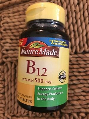 f2691961562 Bottle of Nature Made Vitamin B-12 500 mcg 200 Tablets Ex 4 2020