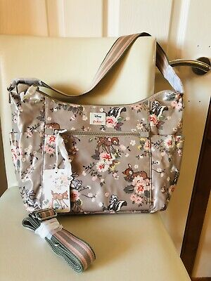 New Women Cath Kidston Disney Bambi Shoulder Bag Bnwt Bambi Rose Heywood Bag