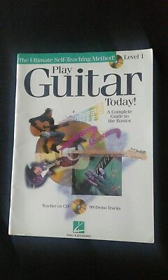 Play Guitar Today Level 1. Guitar Music Book by Hal Leonard *No CD*