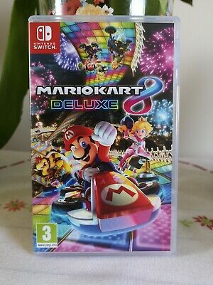 Mario Kart Deluxe. Nintendo switch game, perfect condition