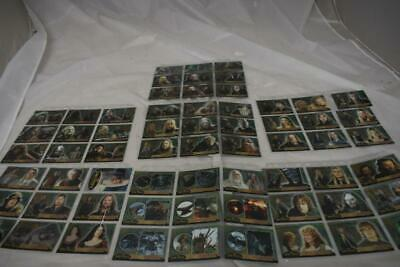 72  x Lord of The Rings Collector Cards In Protective Covers