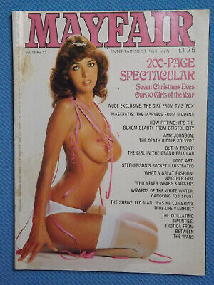 """Mayfair"" Magazine - Vol.15 No.12 - December 1980"