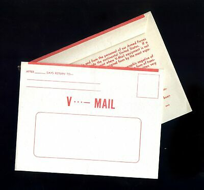 Lot of 12 U.S. WWII Unused V-mail Forms #131269