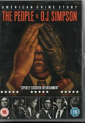 AMERICAN CRIME STORY - The People V O.J. Simpson - DVD Set *Complete TV Series*