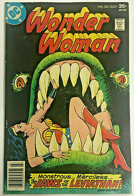 Wonder Woman#233 Fn/vf 1977 Dc Bronze Age Comics