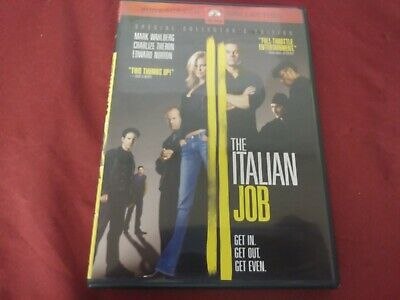 The Italian Job Special Collector's Edition Widescreen Dvd Movie Film Disc 2003