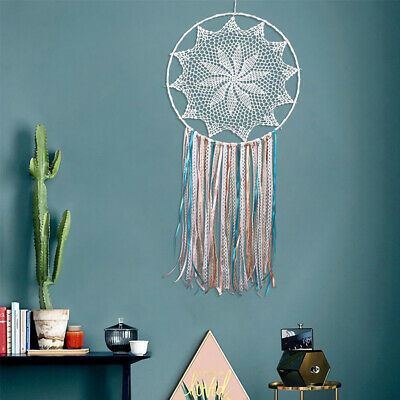 Large Dream Catcher With Fringed Lace Handmade Wall hanging Room Decoration New