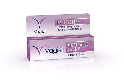 Vagisil Medicated Cream Fast Relief From Feminine Itching - 30g