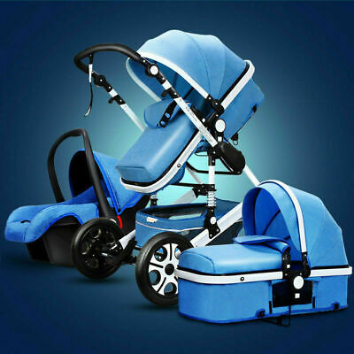 Baby Stroller 3 in 1 with Car Seat For Newborns Folding Baby Carriage Prams F3