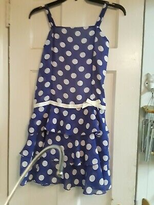 5b9b35dde2 CHILDREN S PLACE PURPLE POLKA DOT RUFFLE PARTY DRESS Size 12 GIRLS EASTER  SPRING