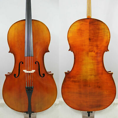 Special Offer!Fabulous Cello Stradivari 1712 Davidov Cello 4/4 Model #3998