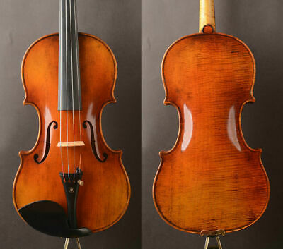 "1pc!Antique VR!A Guarnieri 'del Gesu' 1742 ""Lord Wilton""Violin!M20+ Strong RICH"