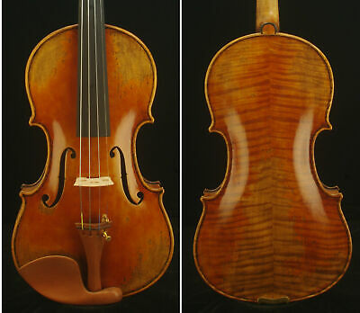 Maestro Guarneri 1743 Cannon 4/4 Violin #8243. Powerful tone