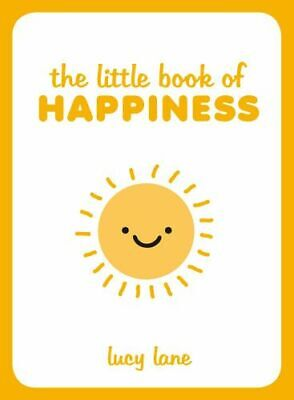 NEW The Little Book of Happiness By Lucy Lane Hardcover Free Shipping
