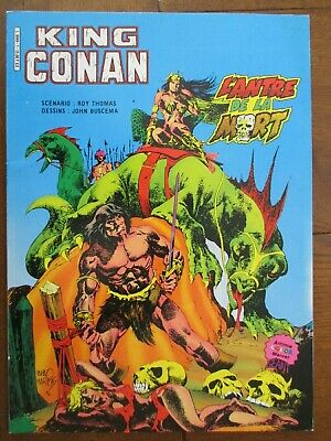 King Conan L'antre De La Mort   Artima Color Marvel 1984 Superbe Etat