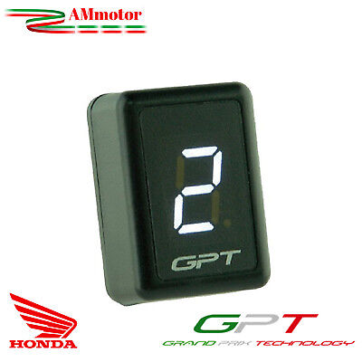 Contamarce Gpt Honda Transalp 700 XL V 2009 Plug & Play Moto Display Led Bianco