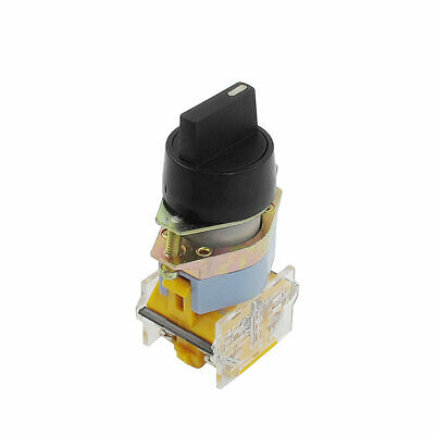 AC 660V 10A 4 Terminal 3 Positions 1NO 1NC Latching Selector Switch Rotary