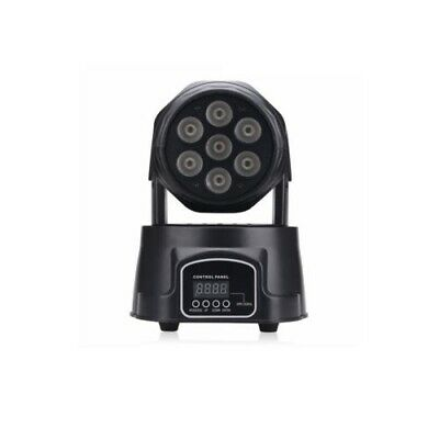 Luce Led Testa Mobile Da Discoteca Feste Luci 7 Led 150W Club Moving Head Light