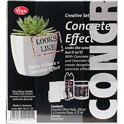 Concrete Effect Paste Kit -grey
