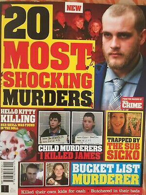 20 most shocking Murders  (brand new magazine)