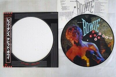 DAVID BOWIE LET'S DANCE EMI EYS-91069 Japan OBI Picture Vinyl VINYL LP
