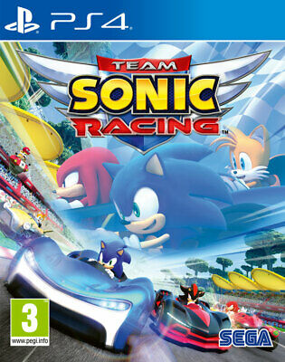 Team Sonic Racing PS4 ***PRE-ORDER ITEM*** Release Date: 21/05/19