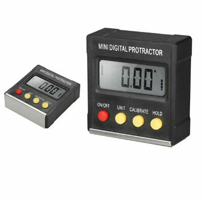 LCD Digital Angle Gauge Meter Inclinometer Protractor Electronic Level Box
