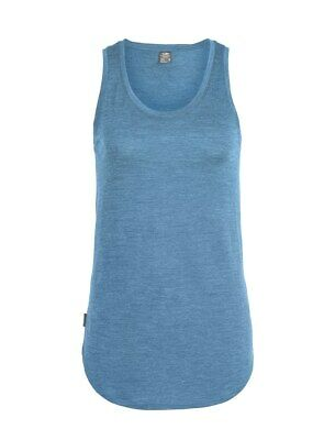 Icebreaker Cool Lite Solace Tank Women Tanktop Shirt  Damen thunder heather
