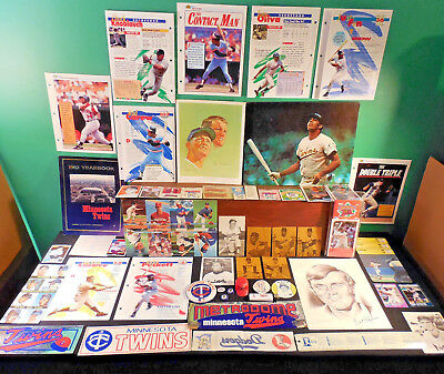 Minnesota Twins NICE! lot 130+ collectibles 60s-80s logos Killebrew Blylevin etc