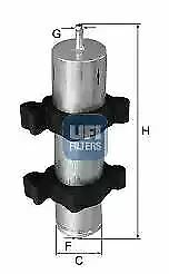 3195000 UFI Fuel Filter Diesel Replaces D20580,G186,ADV182304,BFF8185,DF3369