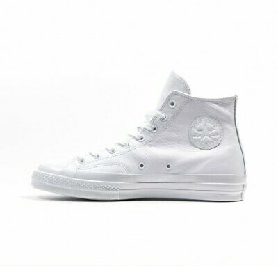 2d2e07861029 CONVERSE ALL STAR Chucks 70 S MONO HI LEATHER white Gr. 45 - 155453C ...