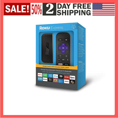 Roku Express | Easy High Definition (HD) Streaming Media Player FAST SHIPPING