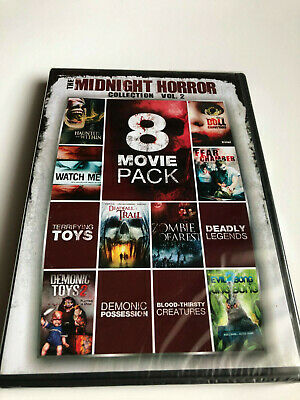 Midnight Horror Collection, Vol. 2 DVD Set 8 Movie Pack New Sealed