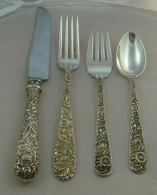 1914 Kirk REPOUSSE Sterling Flatware /& Hollow Ware Catalog 46pp photocopy