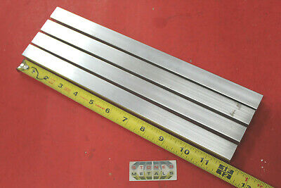 "4 Pieces 3/4""x 3/4""x 1/8"" Wall x 12"" Long ALUMINUM SQUARE TUBE 6063 T52 .5"" ID"