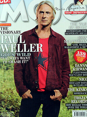 Mojo September 2018 Featuring Paul Weller ( Magazine Only - Cd Not Included )
