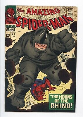 Amazing Spider-Man #41 Vol 1 Beautiful High Grade 1st Appearance of the Rhino