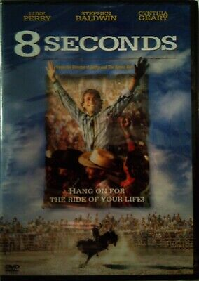 John G. Avidsen's 8 SECONDS(1994)Luke Perry Stephen Baldwin Cynthia Geary SEALED
