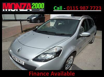 RENAULT CLIO 1.5dCi ESTATE EXPRESSION NIL DEPOSIT FINANCE WARRANTY GREAT