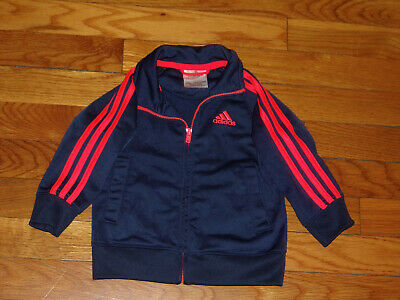 Adidas Athletic Track Jacket Girls 12 Months Excellent Condition