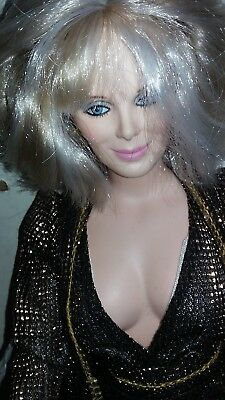 "World doll DYNASTY TV Show Series KRYSTAL CARRINGTON doll 20"" Vintage 1980's"
