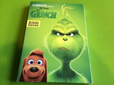 Brand New Dr Seuss' The Grinch DVD 2019 W/ Slipcover FREE S/H !!