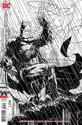 Justice League #1 Jim Lee Inks Only Batman Variant Ed Dc Snyder Cheung 060618