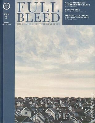 Full Bleed: The Comics and Culture Quarterly HC (IDW) #3-1ST 2019 NM Stock Image