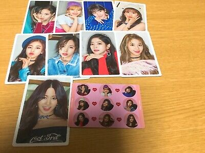 """TWICE """"What is love?"""" Preorder official photocard member select"""