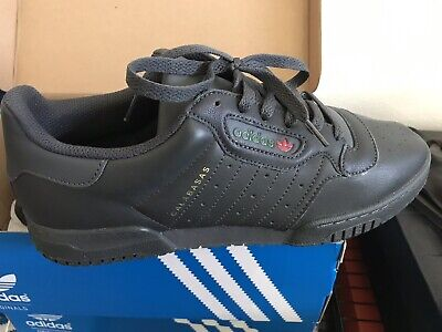 8e44c75b0c045 Adidas Yeezy Calabasas CG6420 Core Black Leather Powerphase Sneakers Shoes 9
