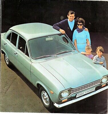 Documentation automobile - Brochure FORD ESCORT