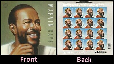 US 5371 Music Icons Marvin Gaye forever sheet MNH 2019
