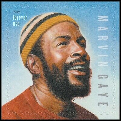 US 5371 Music Icons Marvin Gaye forever single (1 stamp) MNH 2019